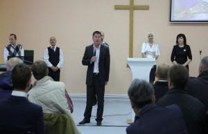 3 Освящение здания посeлка Излучинск