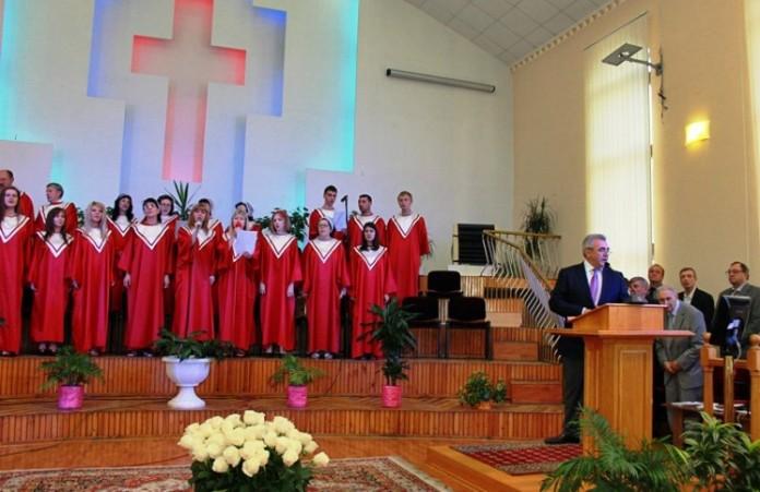 «Библейская Церковь Украины» отметила 105-летие