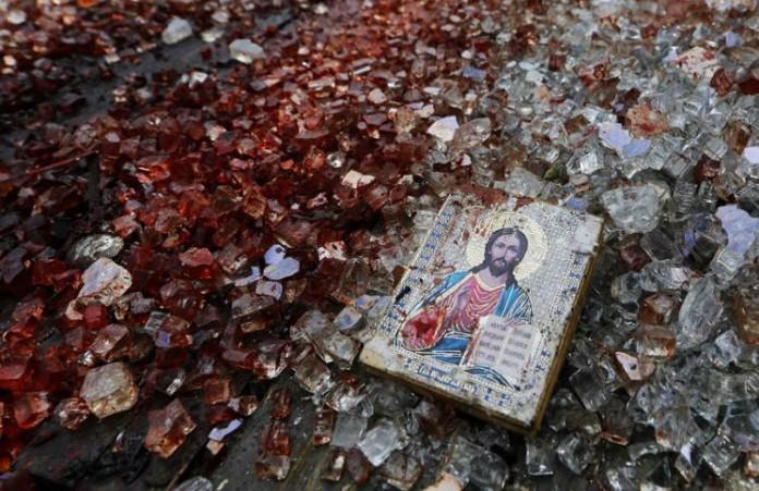 Поджог монастыря в Вифлееме