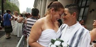 100 тыс. гей-браков за четыре месяца: США