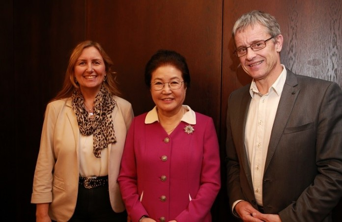Жена известного проповедника Йонгги Чо посетила Москву