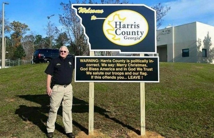 Внимание,округХаррис«политически некорректен»: шериф бросил вызов своей верой