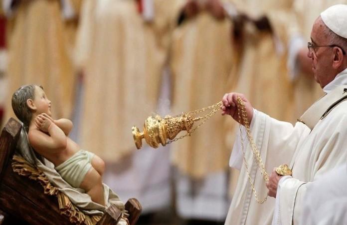Мир всостояниивойны,а у насгрядетРождество: Папа Римский