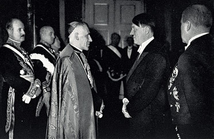папа пий 2 встреча с гитлером связи Волшебный самотык