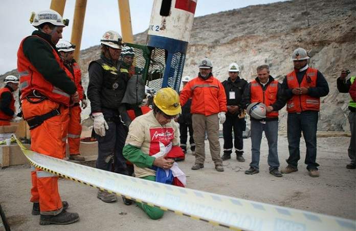 История 33 шахтеров, потрясшая весь мир