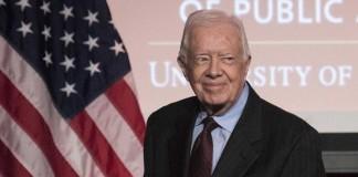Экс - президент США Джимми Картер заявил об исцелении от рака