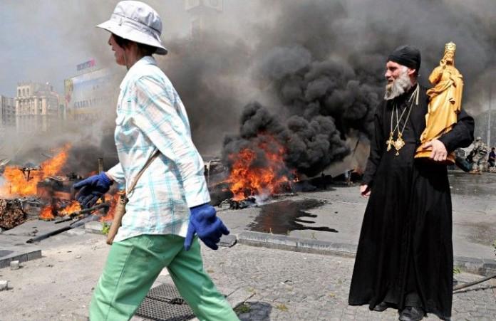 Захват церквей на Украине