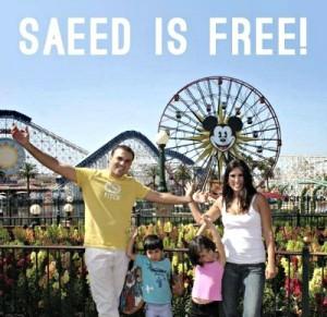 Пастор Саид Абедини освобожден из тюрьмы