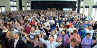 Донецкая область: Открылись две церкви «Новое поколение»