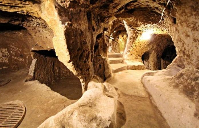 Турция: В подземном городе обнаружена древняя христианская церковь