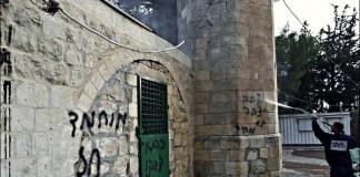 Осквернен известный католический монастырь и армянское кладбище в Иерусалиме