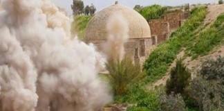 В Мосуле авиаударами была разрушена церковь Девы Марии