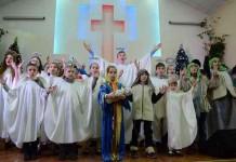 Рождественский праздник в Библейской Церкви Украины