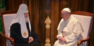 Мы братья: Франциск и Кириллподелились впечатлениями со встречи