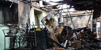 На Украине сгорела церковь «Благая весть»