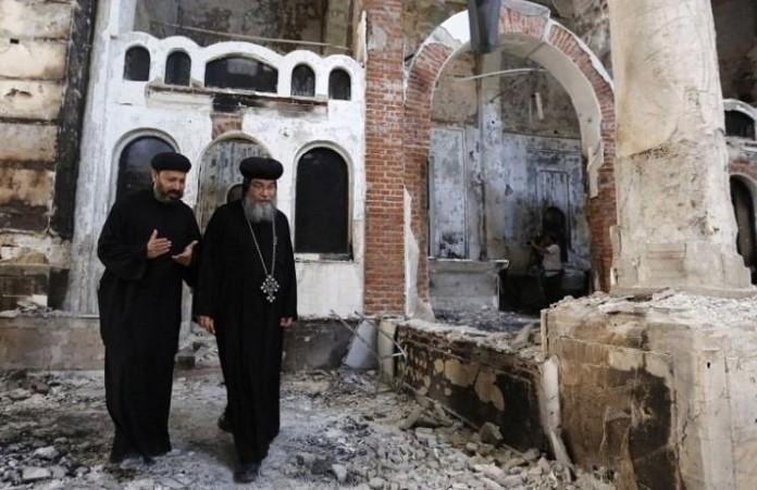 В Египтевосстановятпострадавшие от нападений церкви