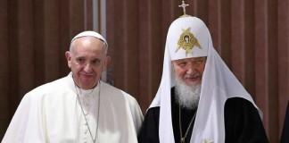 У нас одна и та же вера: Папа Римский и Патриарх Кирилл