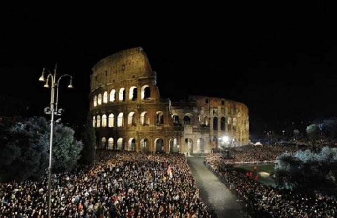 Италия: Крестный Ход против торговли людьми
