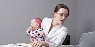 Как быть с работой после рождения малыша?