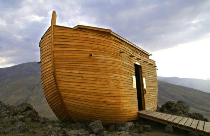 США Открытие христианского парка «Ноев Ковчег»