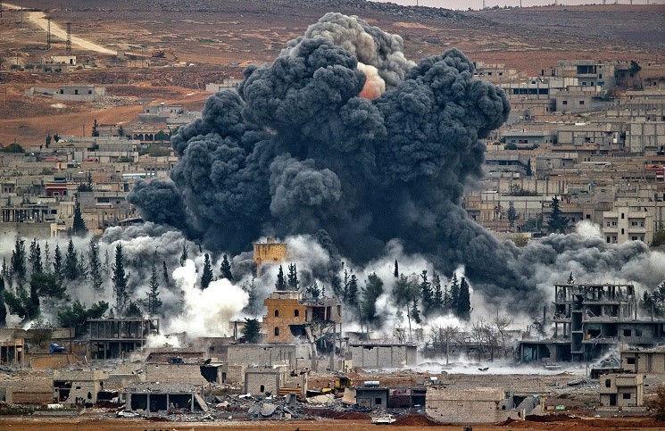 Сирия боевики обстреливают христианские кварталы