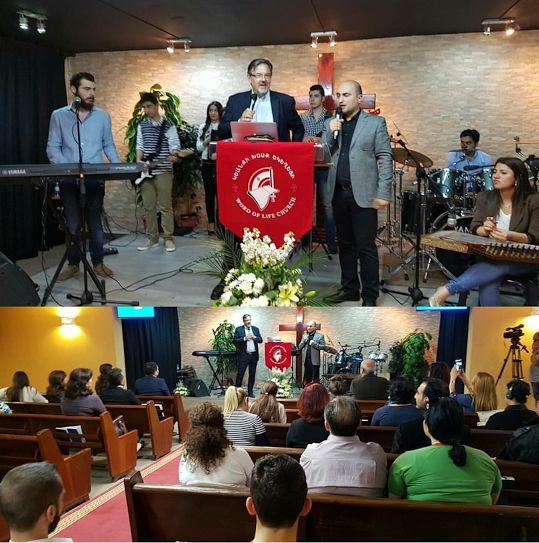 Рождение церкви «Слово жизни» в Ливане