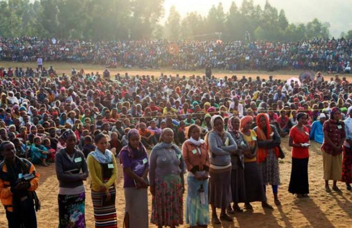 Эфиопия: Более 100 тысяч людей на евангельском крусейде