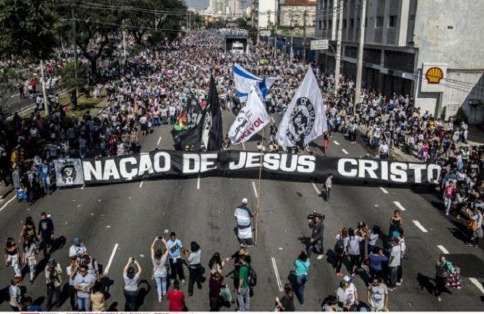 Бразилия: сотни тысяч христиан участвовали в Марше Иисуса