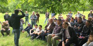 На Северном Кавказе собрались более 90 мужчин для молитвы