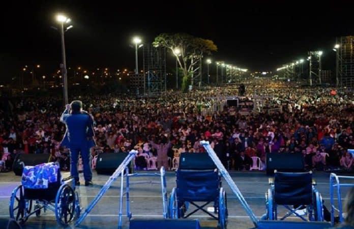 Служение чудес в Боливии посетили больше 275 тысяч человек