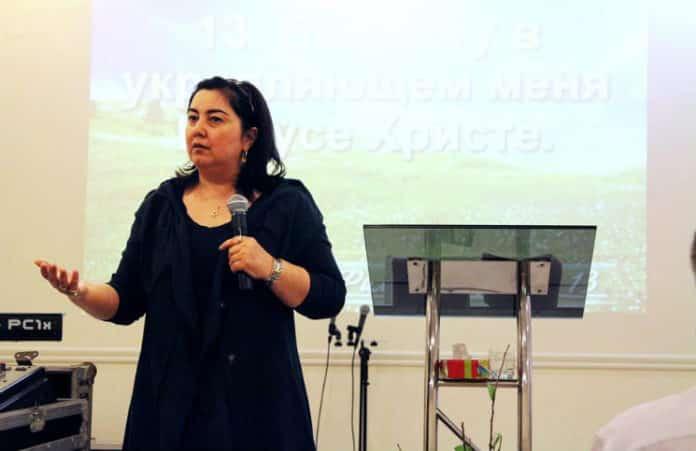 Киев: женское служение с Мариной Подорожн