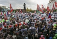 Москва: более 2 тыс. человек собрались на акцию против абортов