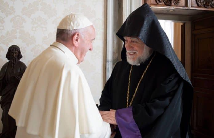 Папа Франциск и Католикос Арам I обсудили вопрос единой даты празднования Пасхи