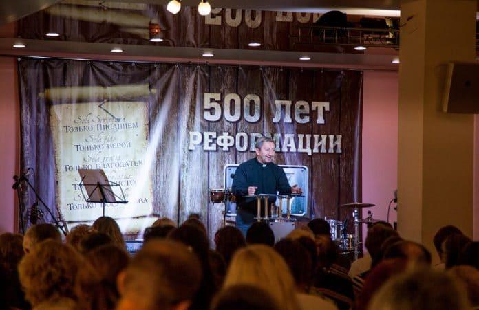Празднование Дня Реформации в Иркутске
