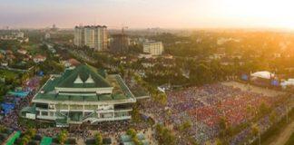 Фестиваль Франклина Грэма в Мьянме посетили около 170 000