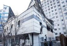 В Бишкеке после пожара начали восстанавливать школу и церковь