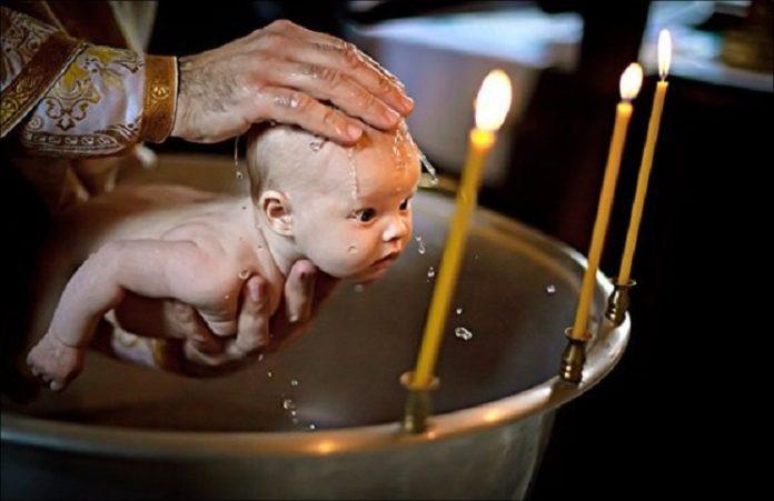 Патриарх Кирилл призывает не крестить людей автоматически