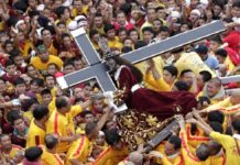 Миллионы филиппинских католиков приняли участие в процессии Черного Назарянина