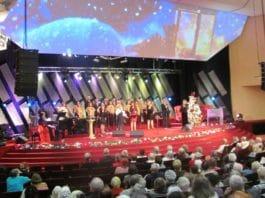 Рождественское богослужение для пожилых людей
