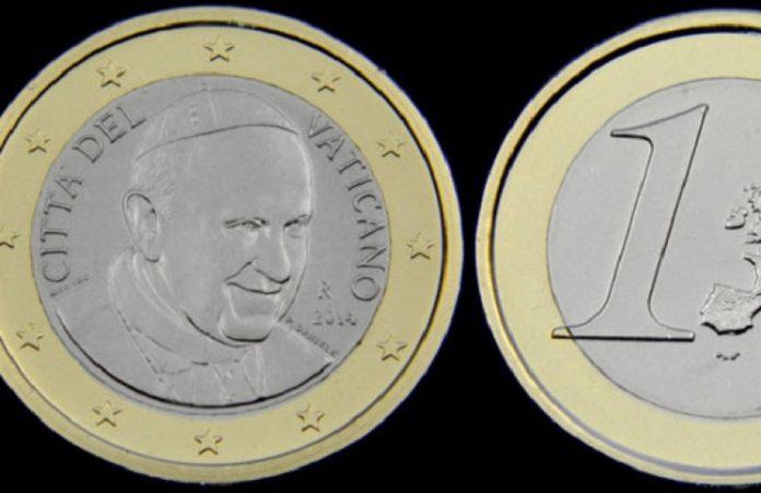 Ватикан отказался от чеканки монет с изображением Папы Франциска