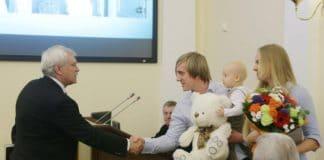 «Семьей года» стали пасторы из Петербурга