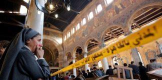 Число погибших при взрыве у церкви в Египте возросло до 16 человек