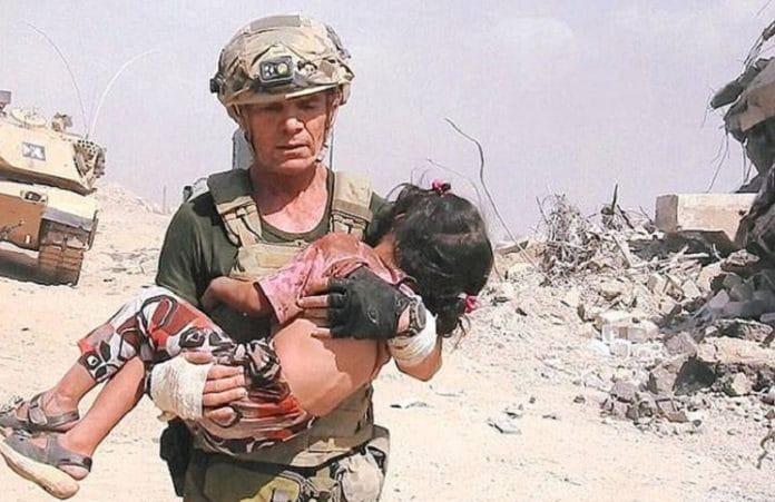Американский миссионер чудом спас иракскую девочку с поля боя