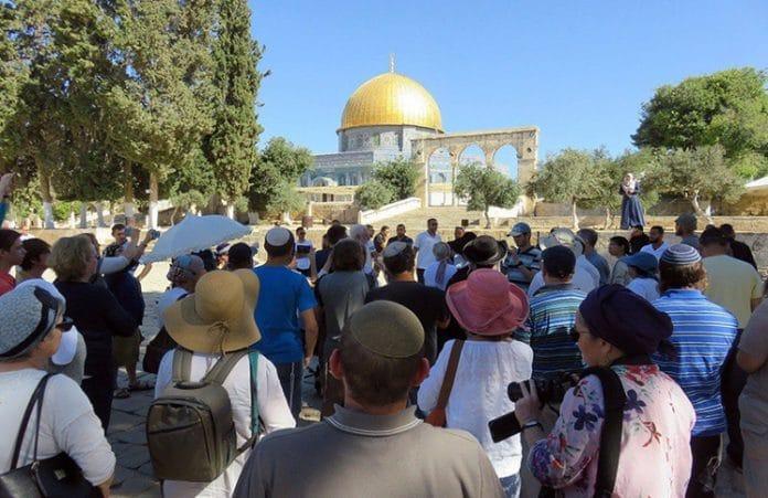 Рекордное число евреев посетили Храмовую гору