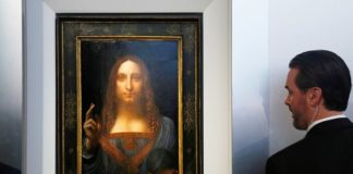 Картину Да Винчи с «портретом Христа» продадут за 100 млн долларов