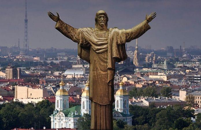 В России установят 33-метровую статую Христа
