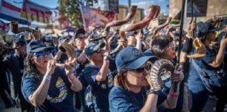 «Иерусалимский марш» в поддержку Израиля собрал более 50 тысяч человек
