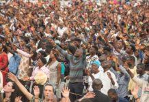 Более полтора миллиона человек участвовали в прощальном крусейде Рейнхарда Бонке