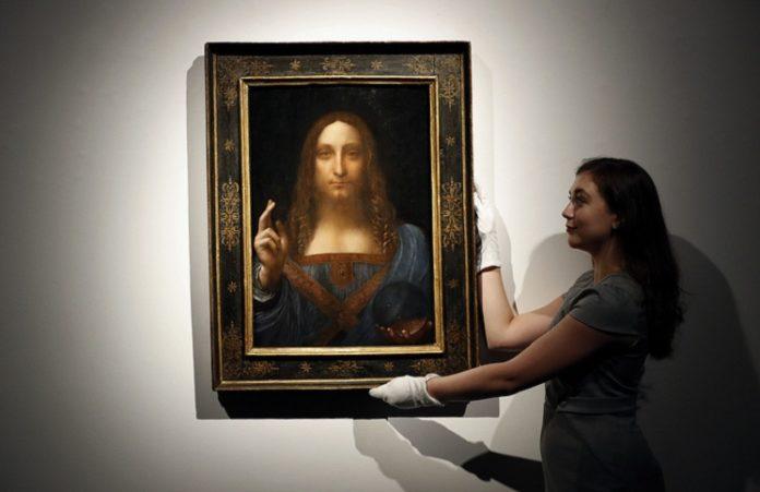 За $450 млн продана картина Леонардо да Винчи «Спаситель мира»