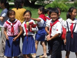 Помощь детям в Северной Корее